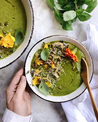 Garden Green Soup 🍃 doesn't it look lik