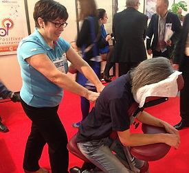 Massage assis en évènementiel