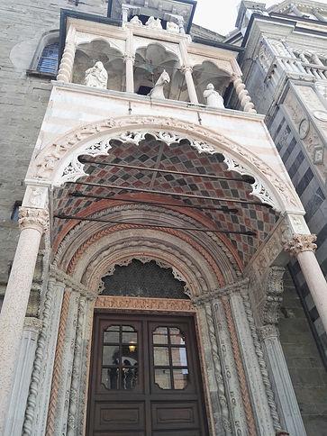 S.Maria Maggiore; soffitto decorato del