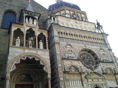 S.Maria Maggiore e la Cappella Colleoni.