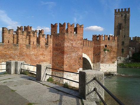 Veron, il ponte di Castevecchio sull'Adi