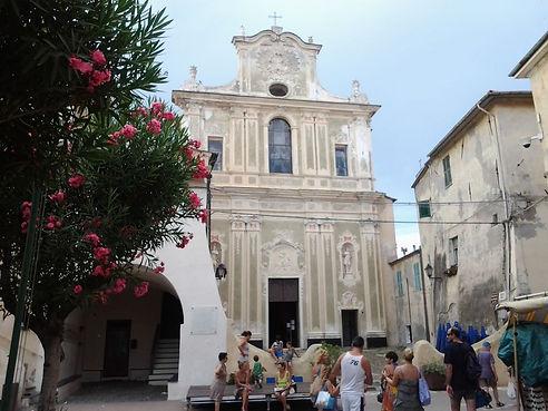 Riva Ligure, la parrocchiale S.Maurizio.