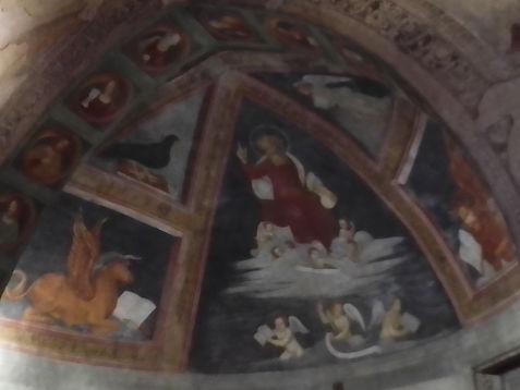 S.Cristoforo, l'abside