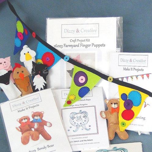 Family Craft Box - Holiday 1