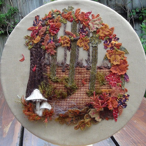 Autumn Collage Project