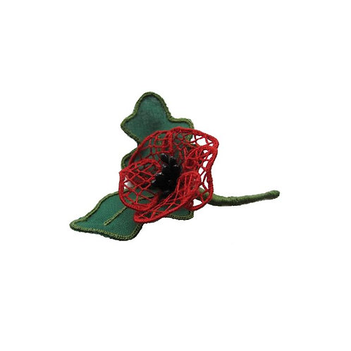 3D Poppy Embroidery kit