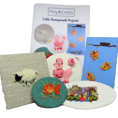 Little Stumpwork Projects Materials Pack