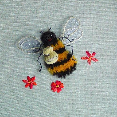 Worker Bee Stumpwork kit