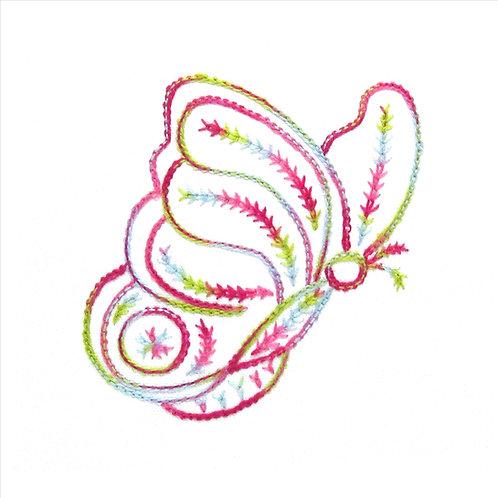 RosaBelle - Wheatear Stitch and Pekinese Stitch
