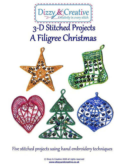 A Filigree Christmas Project Book