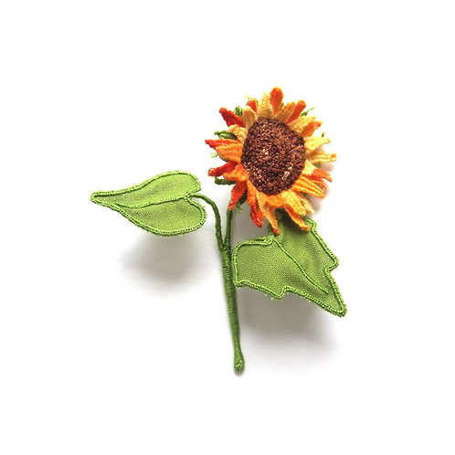 3D Sunflower Embroidery kit