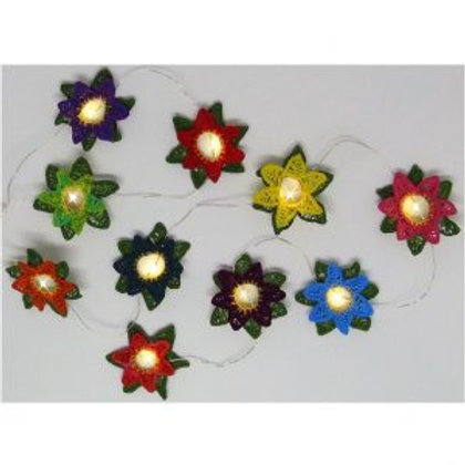 Flower Lights - 3D Embroidery