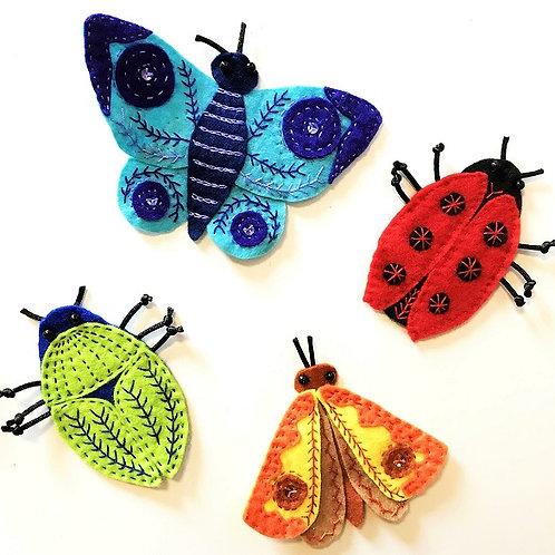 Bug Fridge Magnets