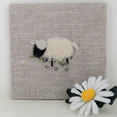 Stumpwork Sheep