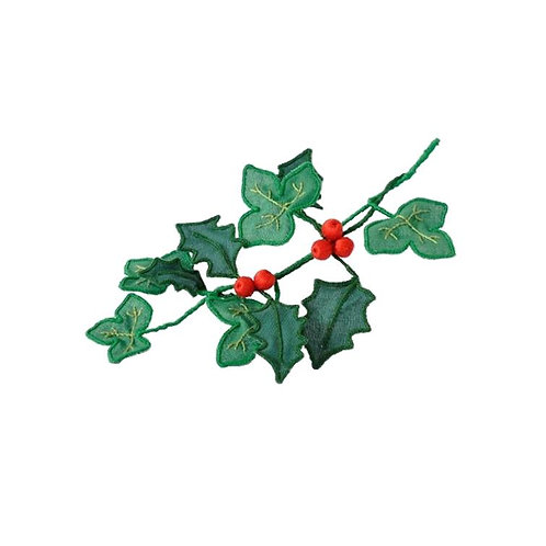 3D Holly & Ivy Embroidery kit