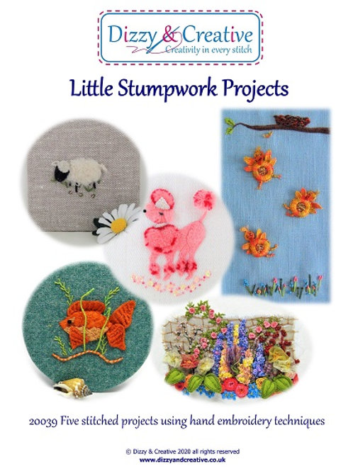 Little Stumpwork Projects Book