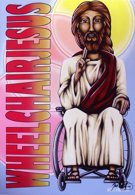 Wheelchair Jesus