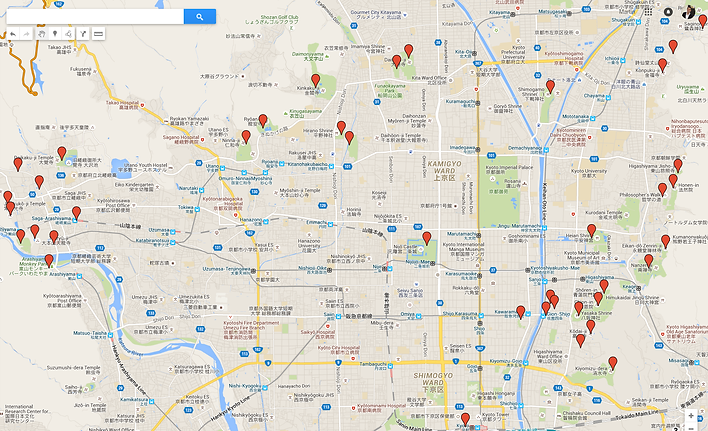 Clic on the map to open Google map