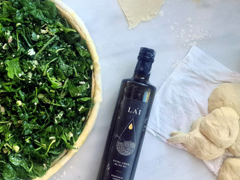 The famous Greek Spanakopita - Spinach Pie