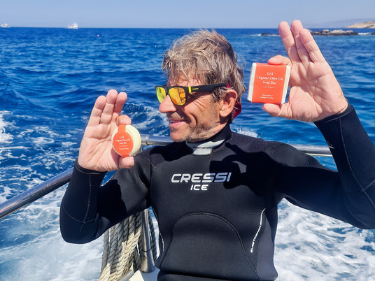 Soaps for ocean lovers: A summer dive into conservation