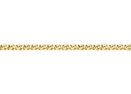 Pulseira formada por fio grumet dupla 0,60.