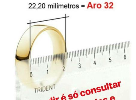 COMO TIRAR MEDIDA DE ANEL