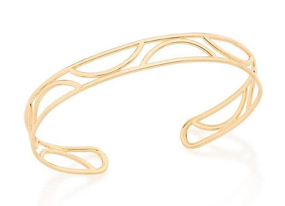 Bracelete detalhes vazados Rommanel