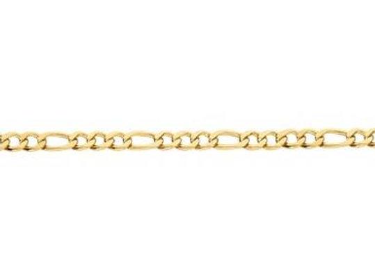 pulseira formada por fio alternado 3x1 1,0 laminado.