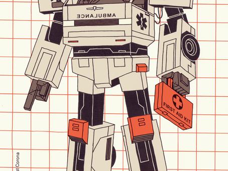 Ambulance Ace of Diamonds