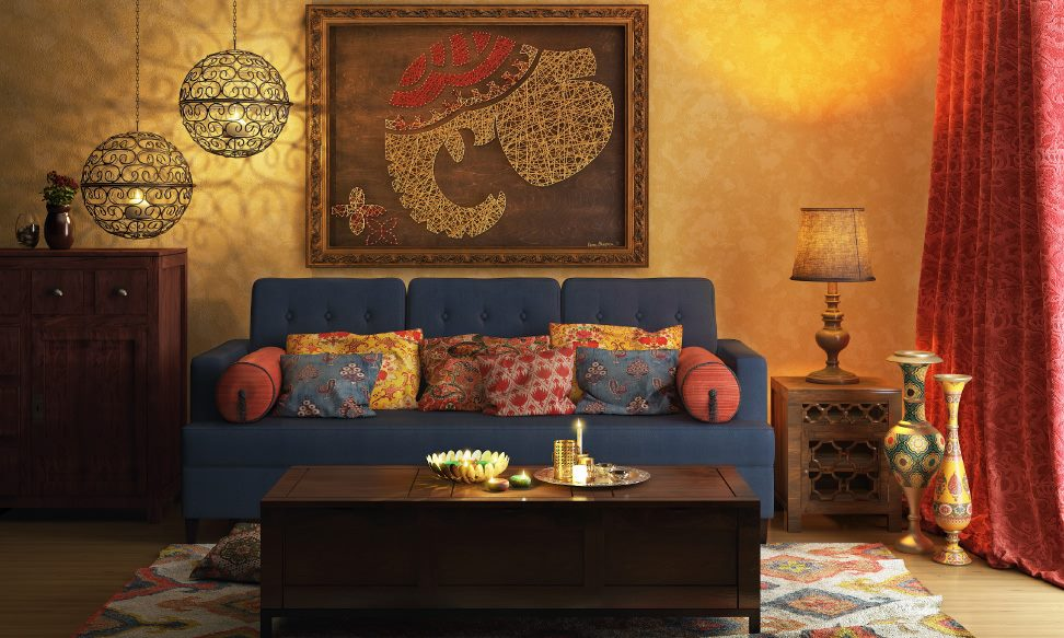 Indian Classical Living Room