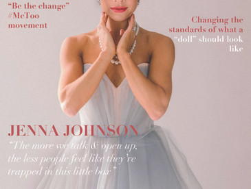 Spring/Summer'20 Cover Story with Jenna Johnson