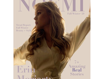 Fall/Winter'20 Cover Story with Erin Moriarty