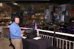 DJ Adam Tiegs @ Museum of Flight (Steve Schneider)