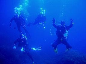 Formation plongeurs confirmés
