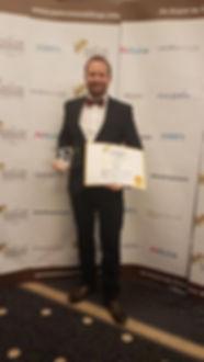 Wedding car hire award winner
