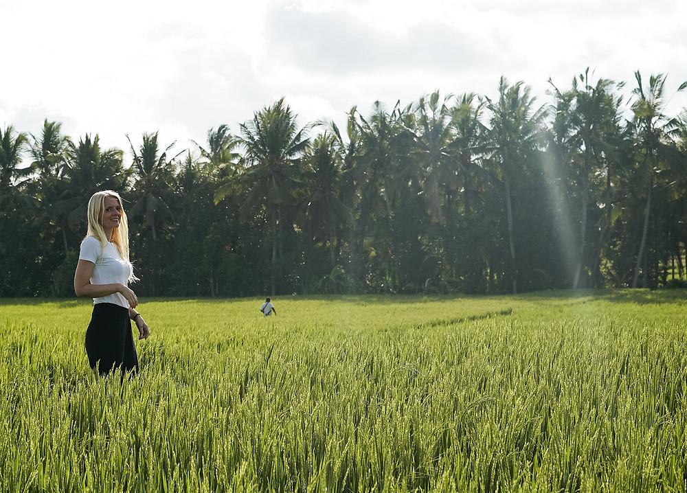 Sunshiny vibes from Bali