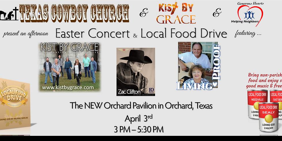 Easter Concert & Food Drive