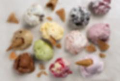 gelato, sorbet, crème glacée, les boules glacees de métis