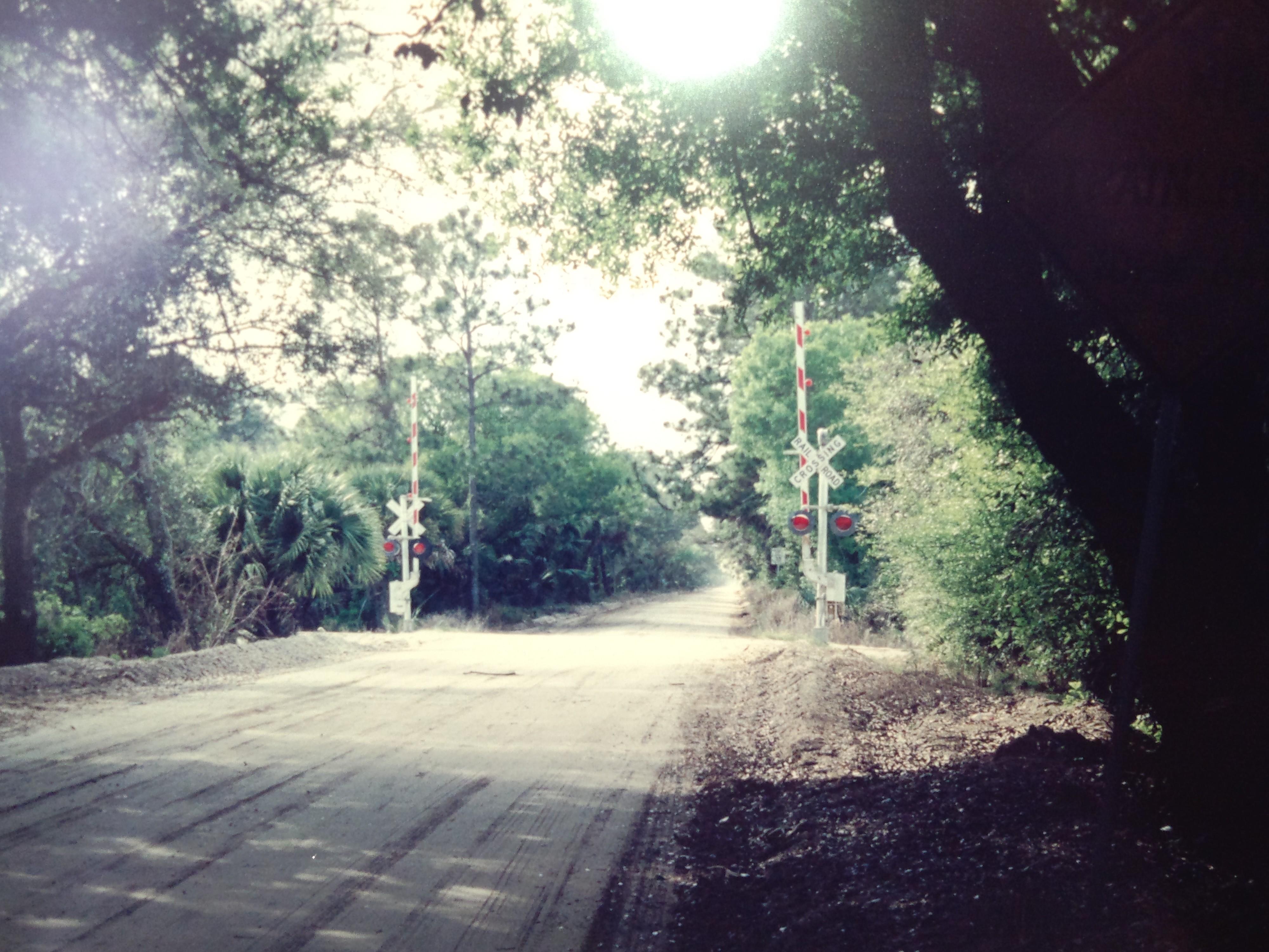 Martin Grade RR crossing 1994