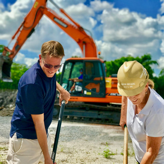 Breaking Ground for Palm City Farms Produce & Market