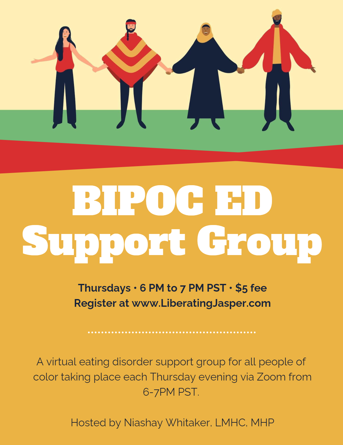 Virtual BIPOC ED Support Group
