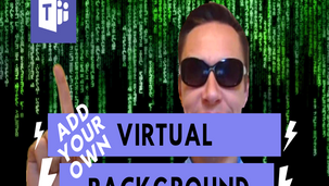 How to add custom backgrounds into Microsoft Teams video calls