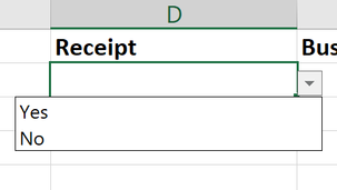 How to create drop-down lists in Excel?