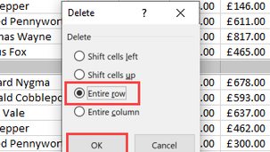 Remove Blank Rows in Excel Hack