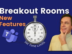 New features added to Breakout Rooms in Microsoft Teams