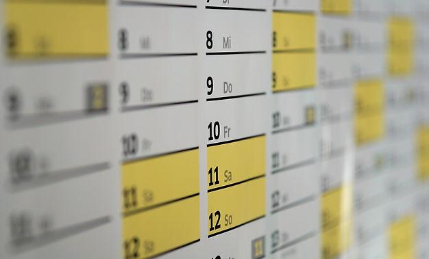 工程、作業予定を表示します。予め登録しておけば月曜日に自動的にこうし更新される仕組みにしています。