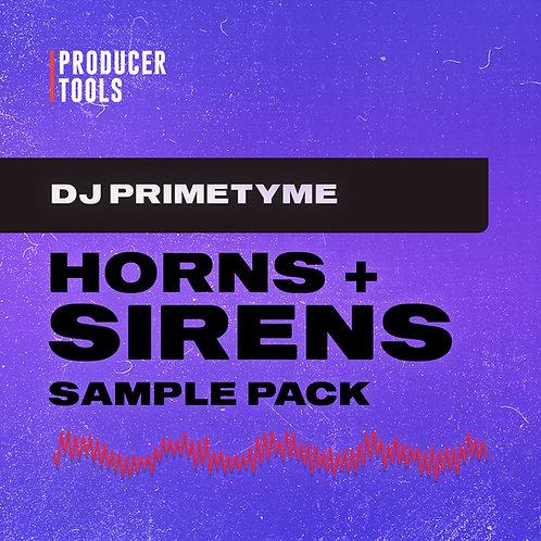 Primetyme Horns & Sirens Sample Pack