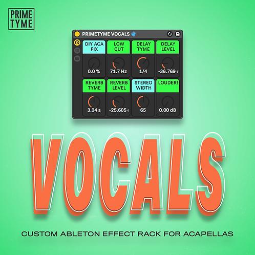 Primetyme Vocals Cover Art