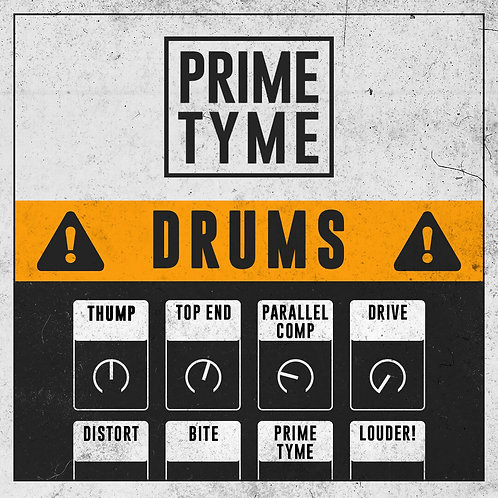 Primetyme Drums - Audio EFX Rack
