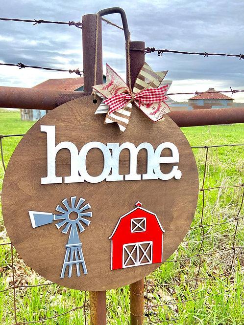 Home Barn Simple